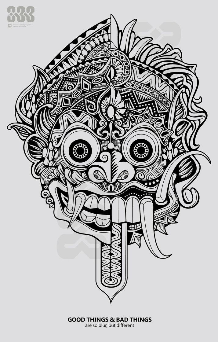 indonesian puppet drawings Buscar con Google Mask