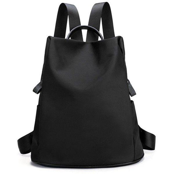 47c32ec4d86 Toupons Waterproof Lightweight Nylon School Bookbags Backpacks for Girls ( Black) Toupons