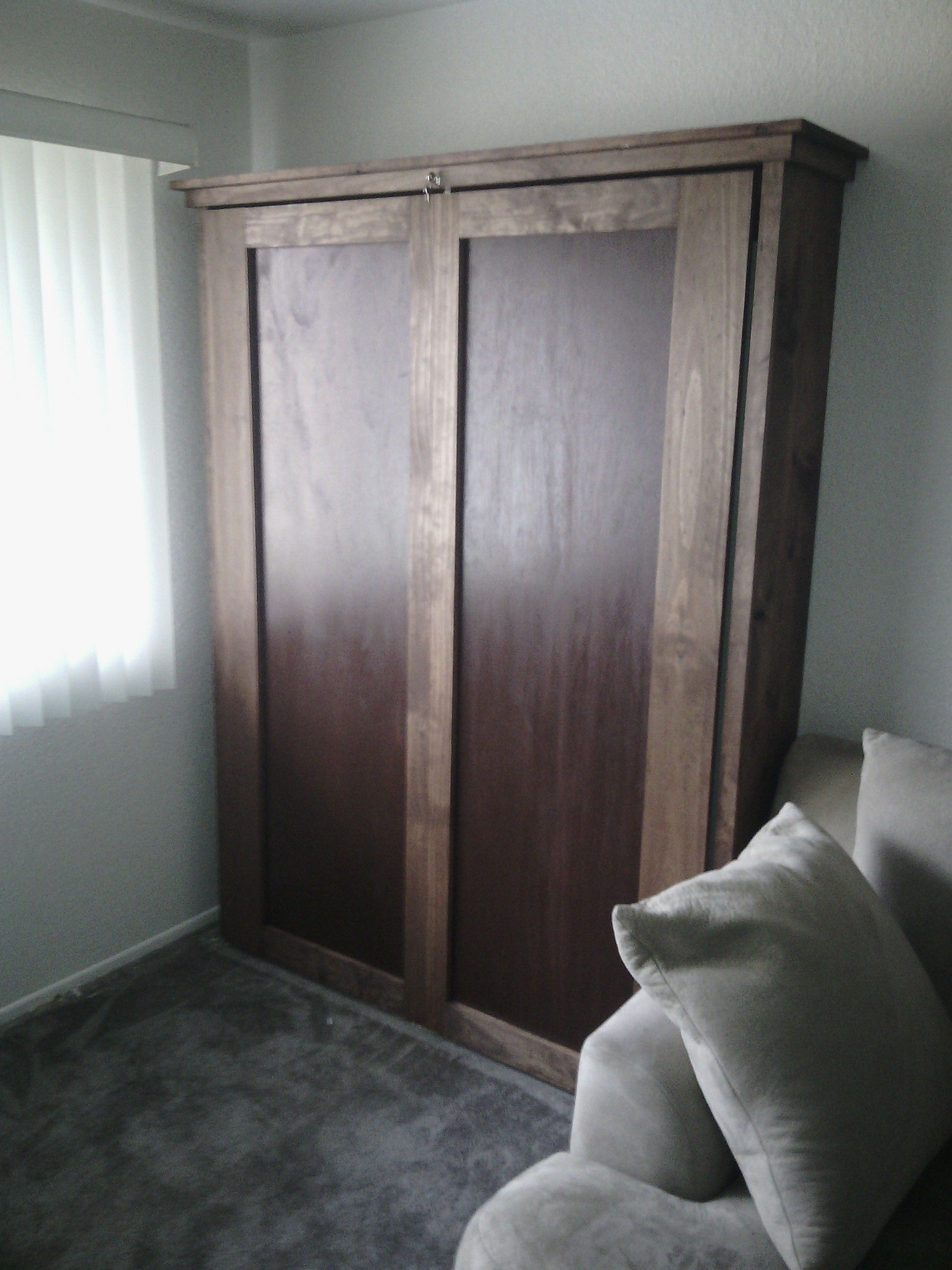 Full size Murphy Bed Do It Yourself Home Projects from