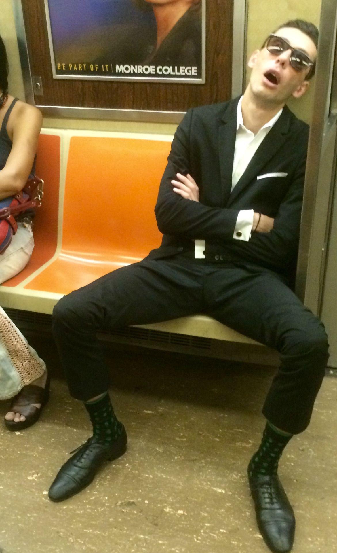 Brooklyn-bound R train