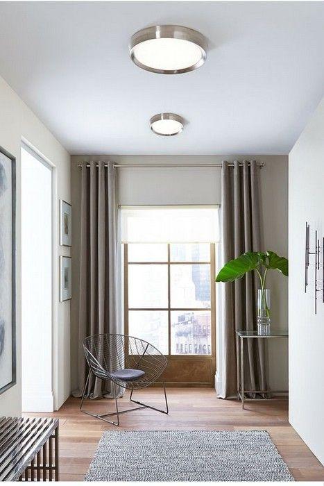 wonderful low ceiling living room ideas | Flush Mount Lighting 27 Awesome pics Interiordesignshome ...