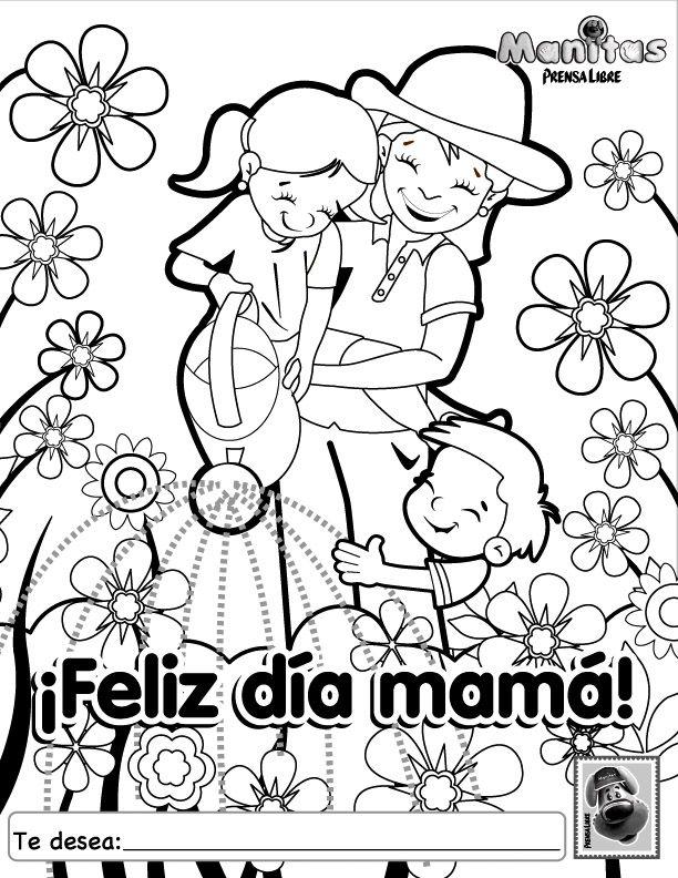 Pin De Hildelena Calderon Bravo En Mothers Day Dibujos Del Día De