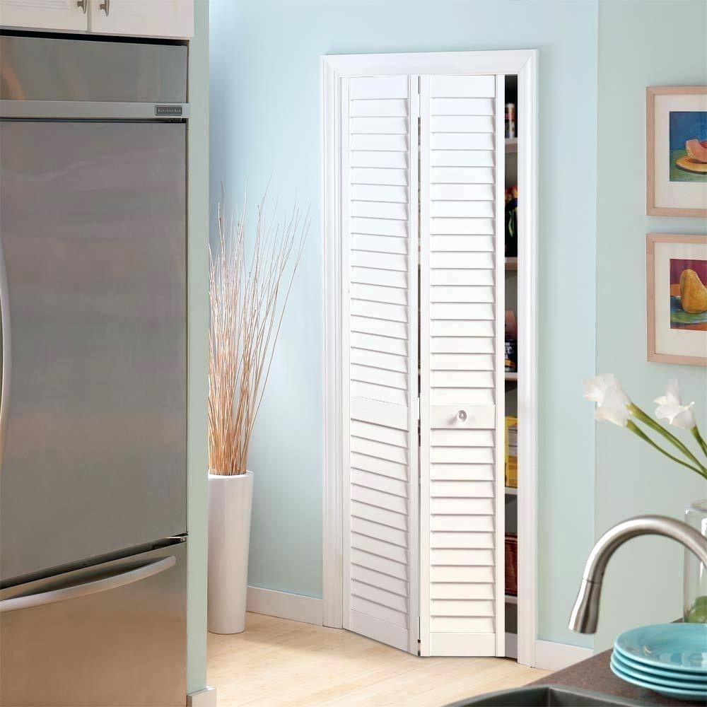 Plantation Full Louver Painted Pine Interior Closet Bi Fold Door 11420 The  Home Depotlouvered Doors Uk