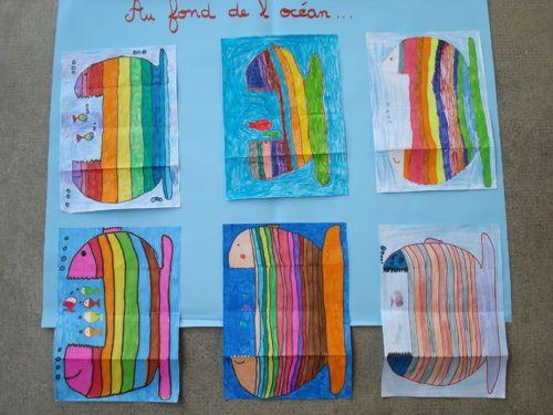 Poissons d 39 avril arts plastiques pinterest - Poisson avril maternelle ...