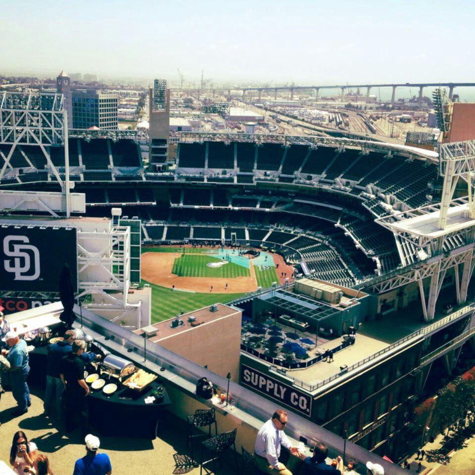 San Diego Padres Stadium Baseball Park Mlb Stadiums
