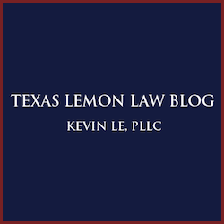 Texas Lemon Law >> Texas Lemon Law Blog Published By Dallas Consumer Law