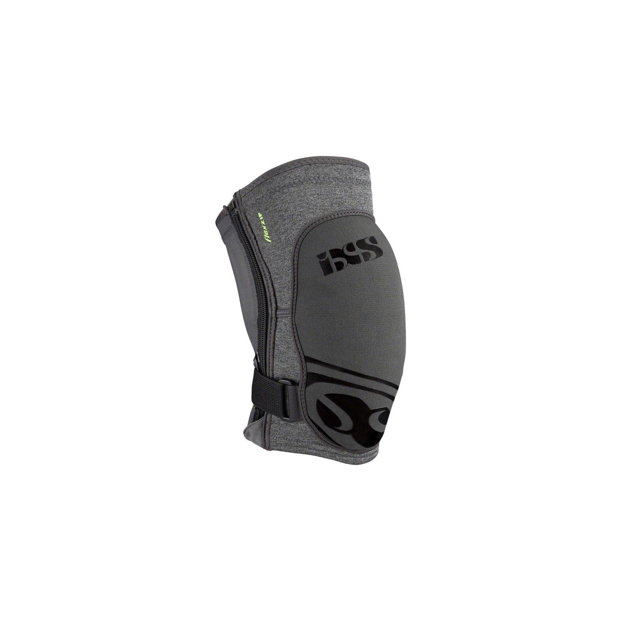 Grey X-Large iXS Flow ZIP Knee Pads