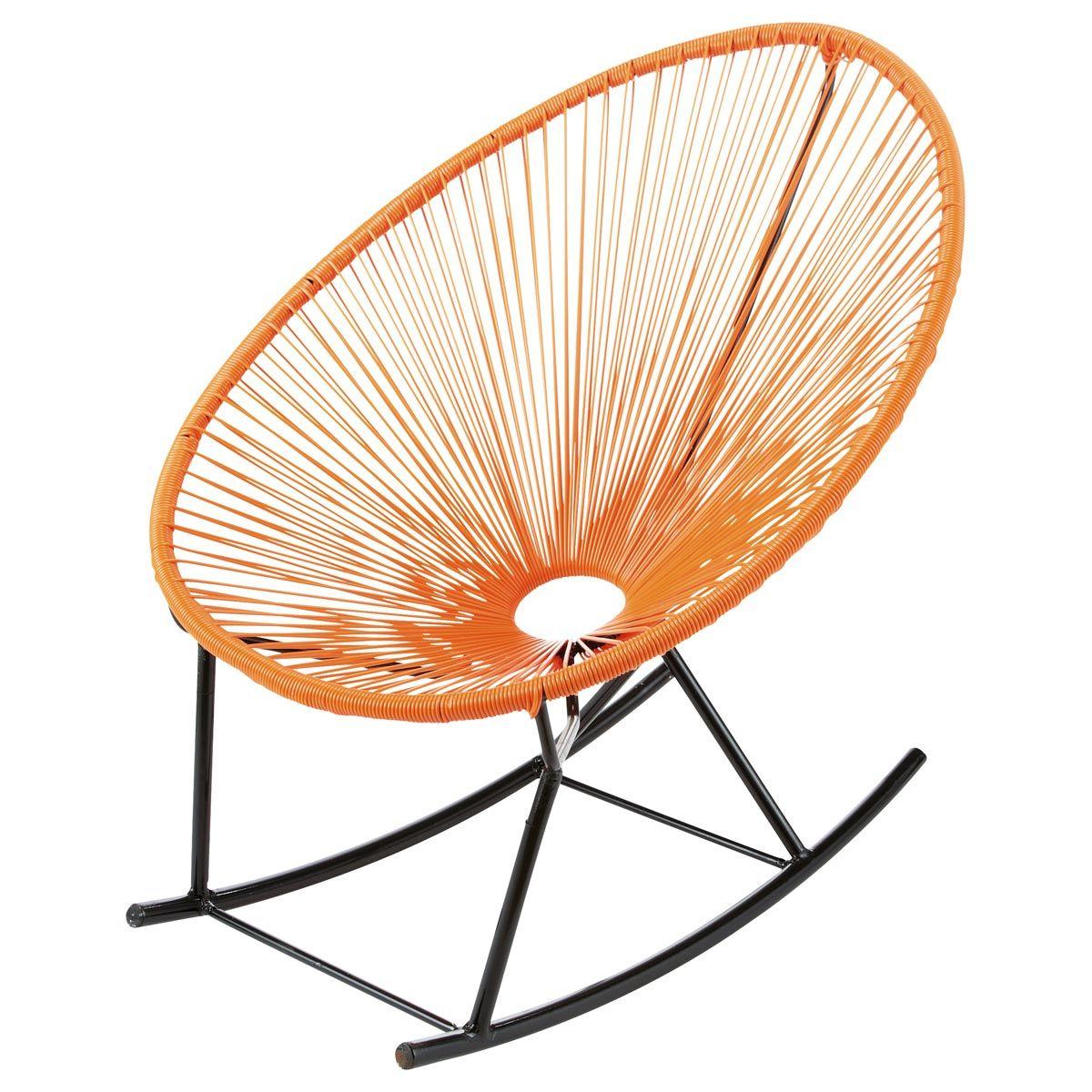 oranje tuin schommelstoel copacabana 89 maisons du monde. Black Bedroom Furniture Sets. Home Design Ideas