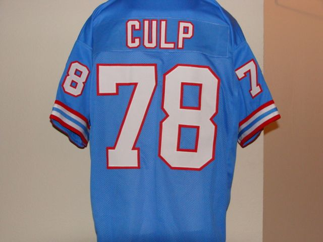 7a8823e94be ... wholesale 78 curley culp houston oilers nfl dt 1974 1980 blue throwback  jersey. 90272 ca259