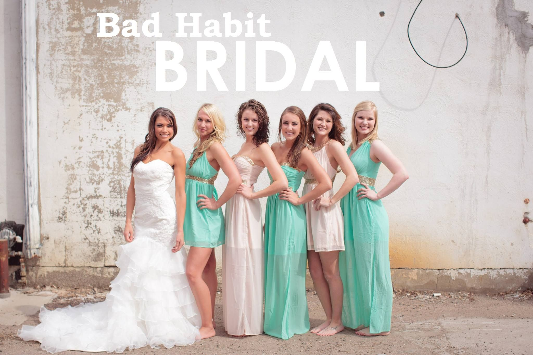 Do You Have A Wedding Coming Up Soon Bad Habit Boutique Has Fun Dresses That Could Your Bridesmaids Wear Can Different Lengths And