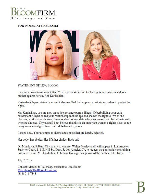 Did Kim Kardashian Threaten Blac Chyna With Legal Papers