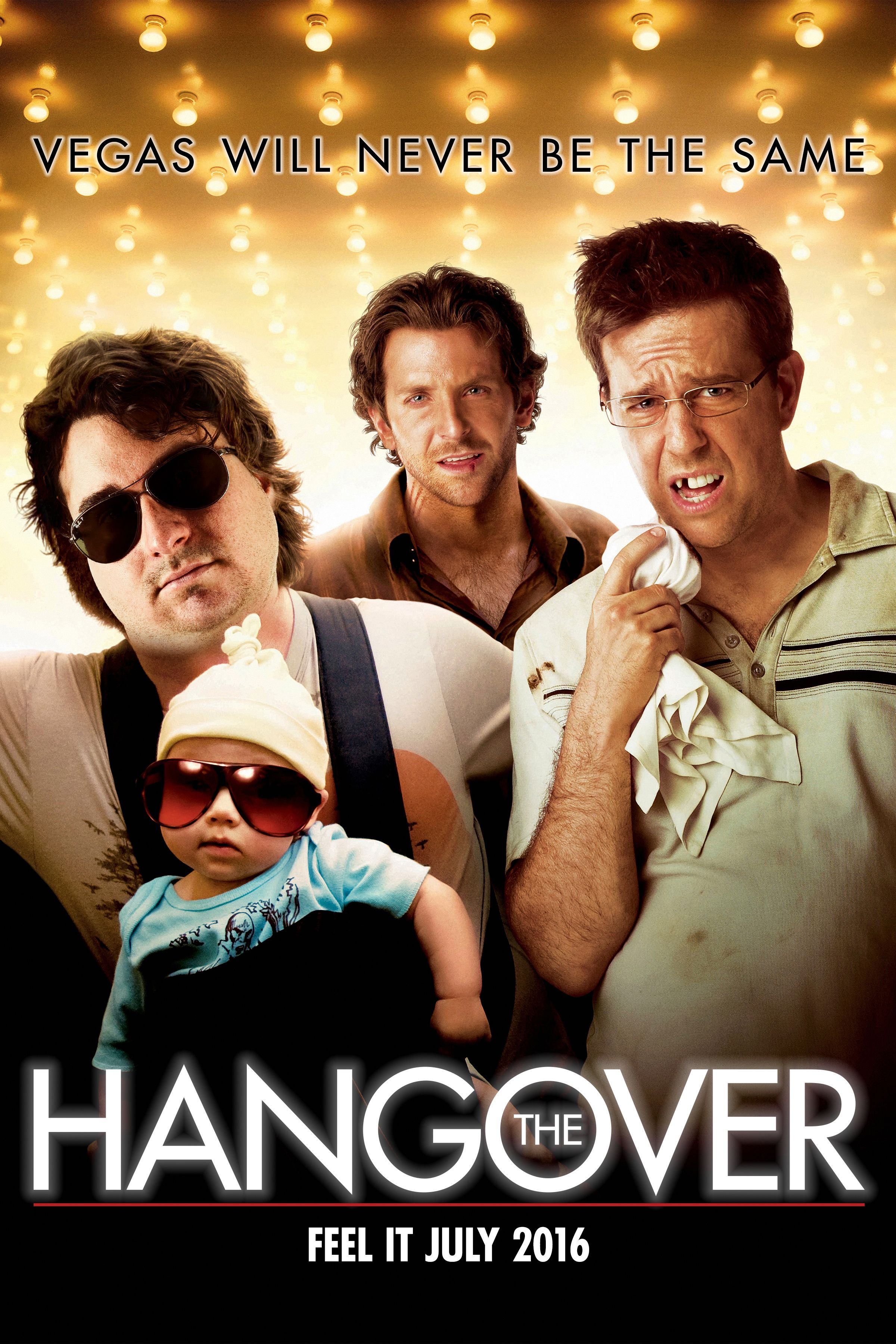 The  Hangover Baby Announcement!  Vegas will never be the same.