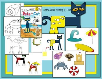 Free Graphics To Go Along With The Book Pete The Cat Pete At The