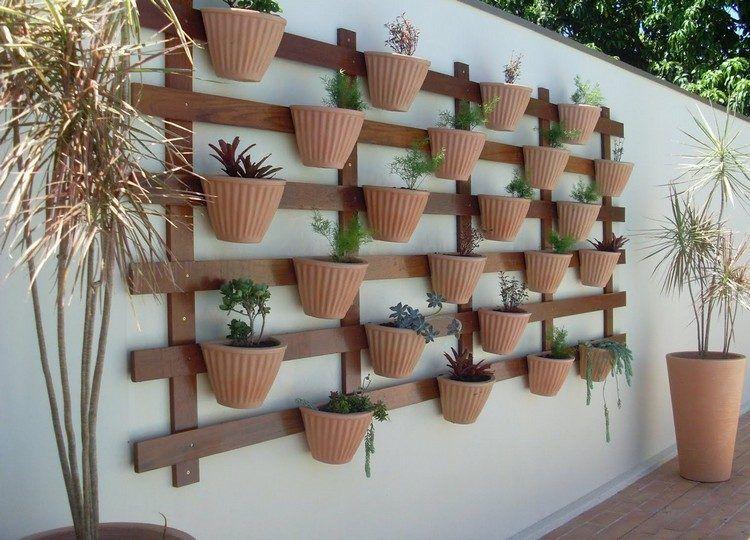 Mur végétal et autre jardin vertical extérieur et intérieur Patios
