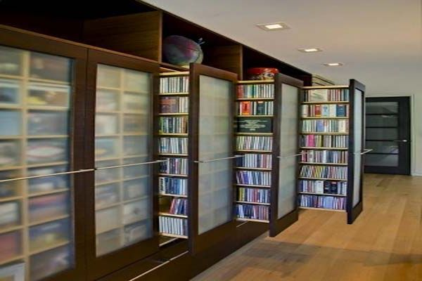 10 Dvd Storage Ideas For Your Precious Home Home Library Design Storage Furniture Living Room Home Library
