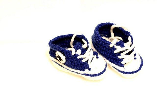 converse neonato blu