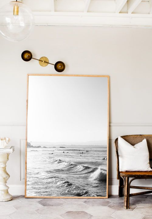 How to Style My Extra Large Prints #strandhuis