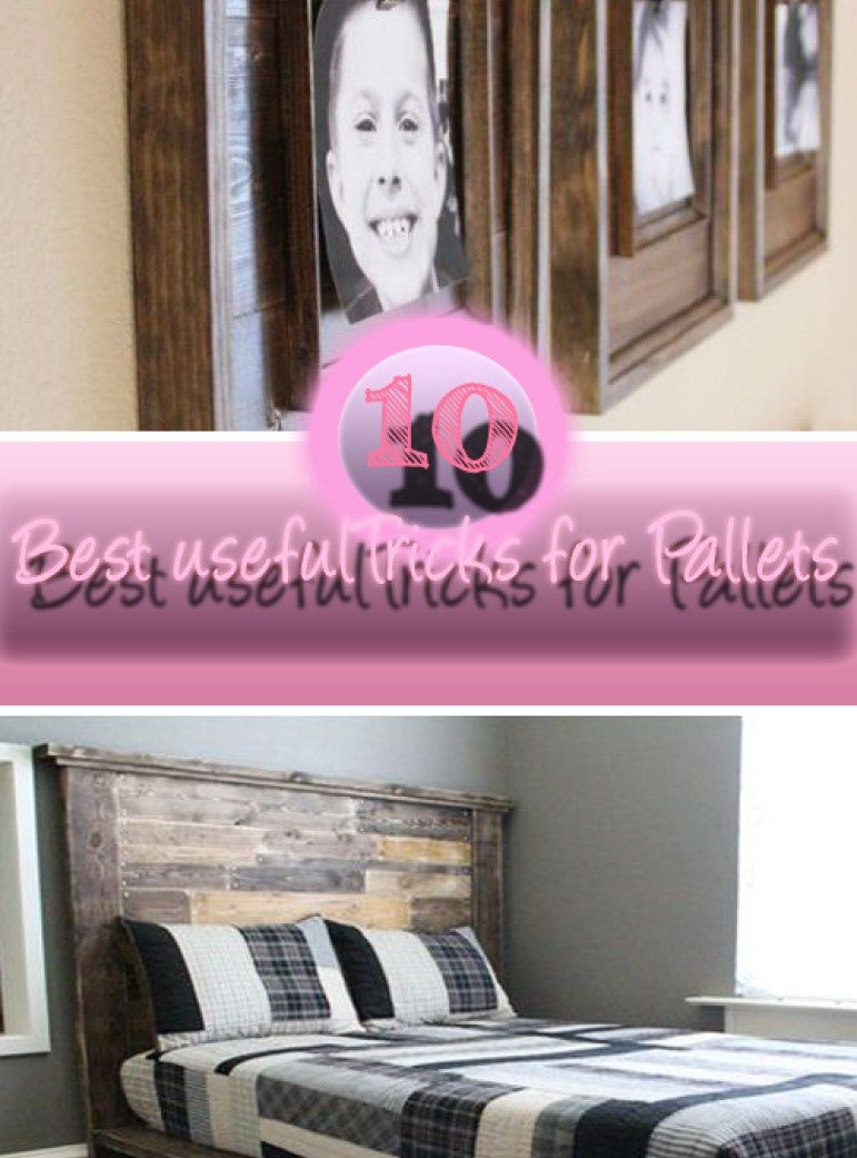10 useful do it yourself tricks for pallets best diy projects 10 useful do it yourself tricks for pallets solutioingenieria Image collections
