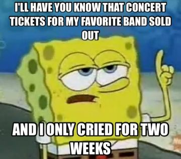 This Is Exactly What Happened When I Tried Buying Concert Tickets