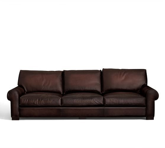 Turner Roll Arm Leather Sleeper Sofa Leather Sleeper Sofa Rolled Arms Rolled Arm Sofa