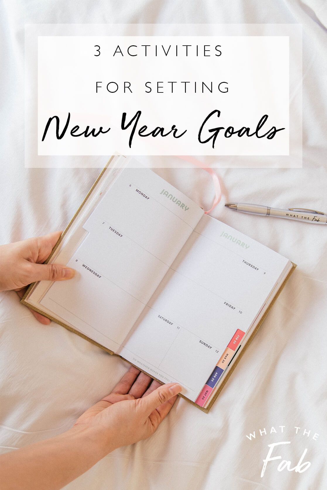 How To Set Goals For The Year Three Activities For A