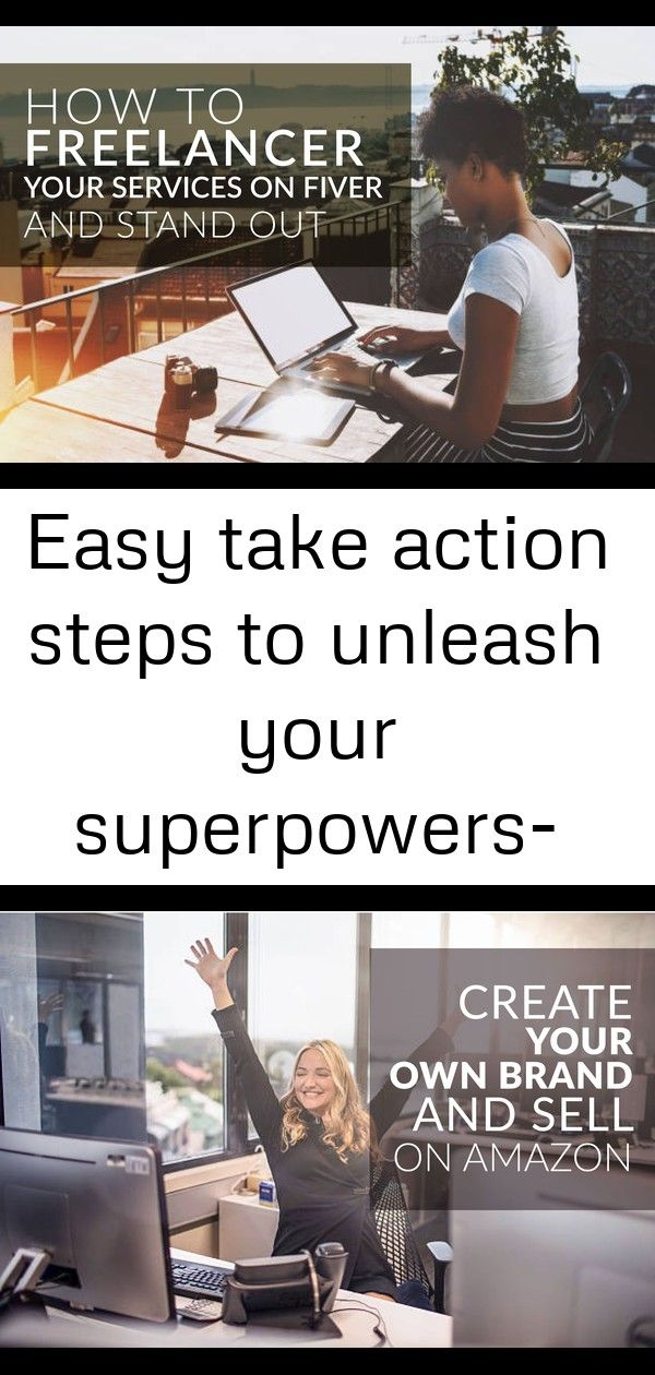 Easy take action steps to unleash your superpowers- free for limited time 21
