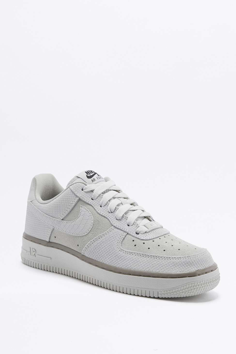 Nike Air Force 1 Ultra Force Off White Suede Trainers