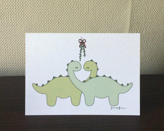 Under the Mistletoe / Christmas Card / 5\