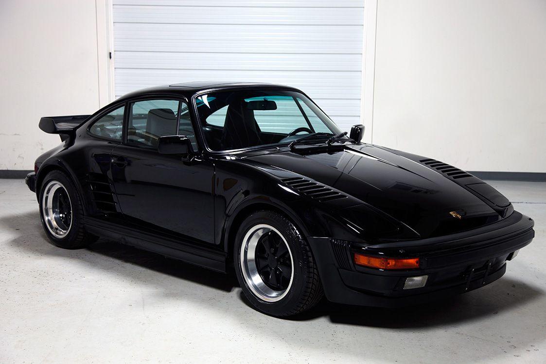 1989 Porsche 911 Turbo Quot Slant Nose Quot Coupe 3 3 Liter With