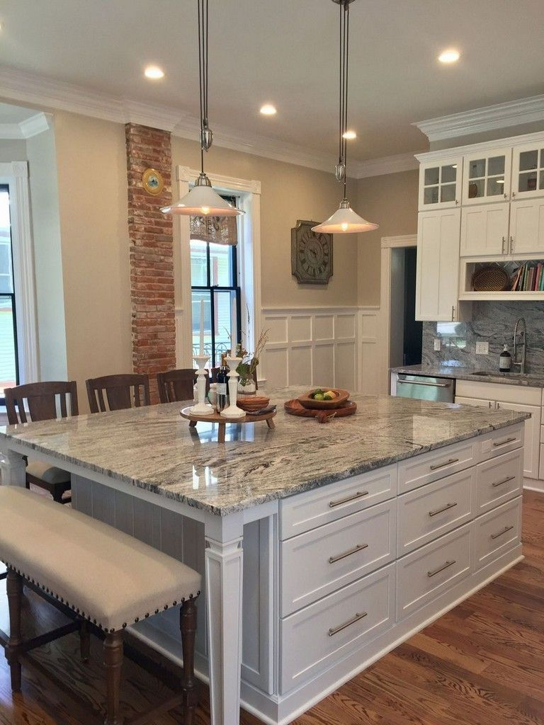 Kitchen Island Ideas The Kitchen Island Is The Ideal Location To Stabilize Congregation Functional Kitchen Island Large Kitchen Island Modern Kitchen Island