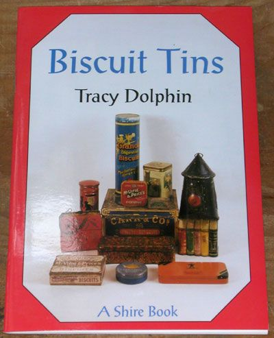 Biscuit Tins by Tracy Dolphin #FollowVintage #ReferenceBooks #Tins #Tin - A Must read if you love Tins....not just Biscuit Tins....for such a small book it is packed with Information....