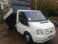 Ford Transit 2 4tdci Duratorq 350 Mwb Tipper For Sale In Hitchin Hertfordshire At Master Van Sales Ford Transit Van For Sale Used Vans