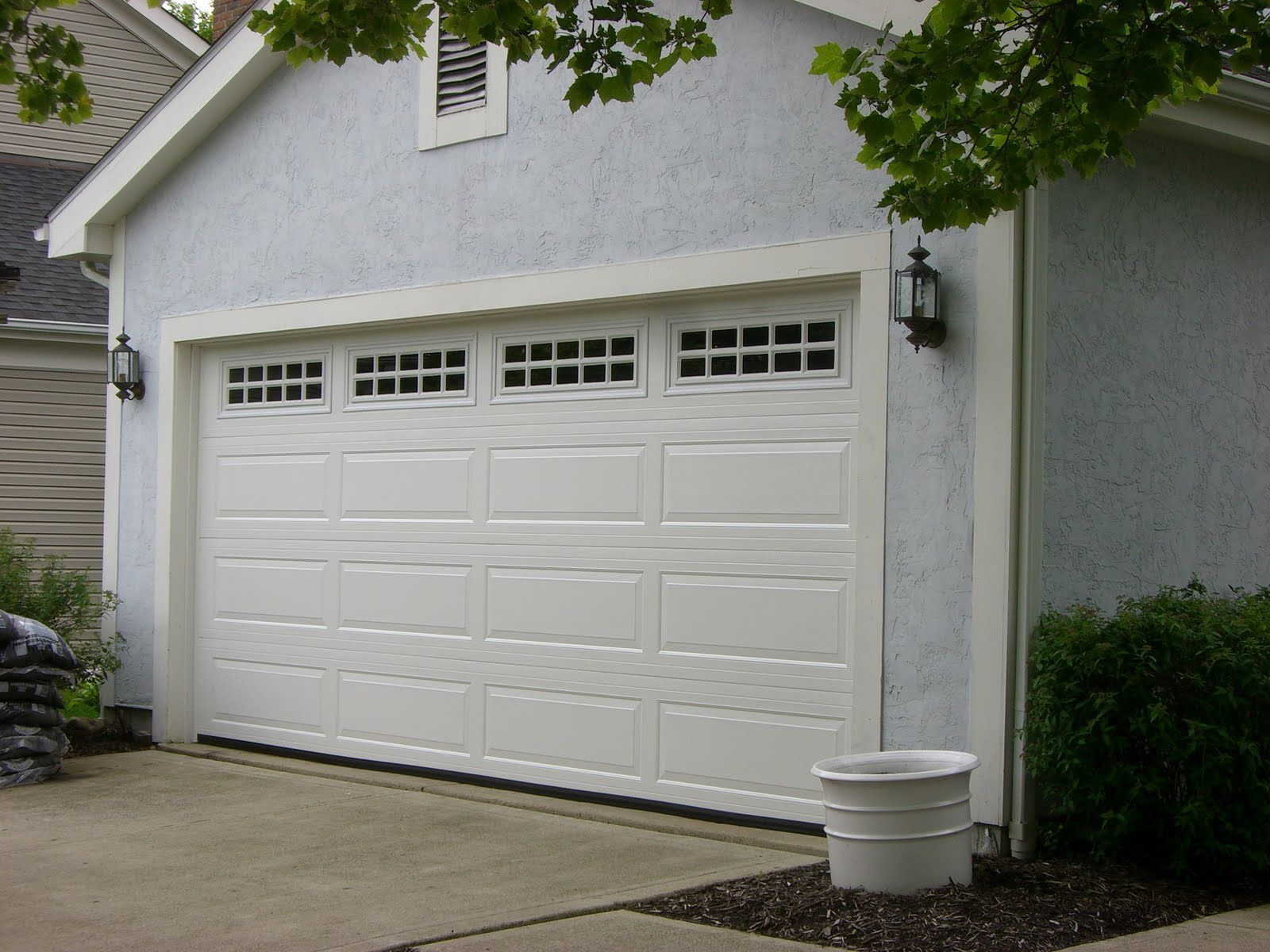 Ranch Panel Doors Are A Little Different That Raised Panel Doors Click To Find Out More About Them Garage Doors Raised Panel Doors Garage Door Panels