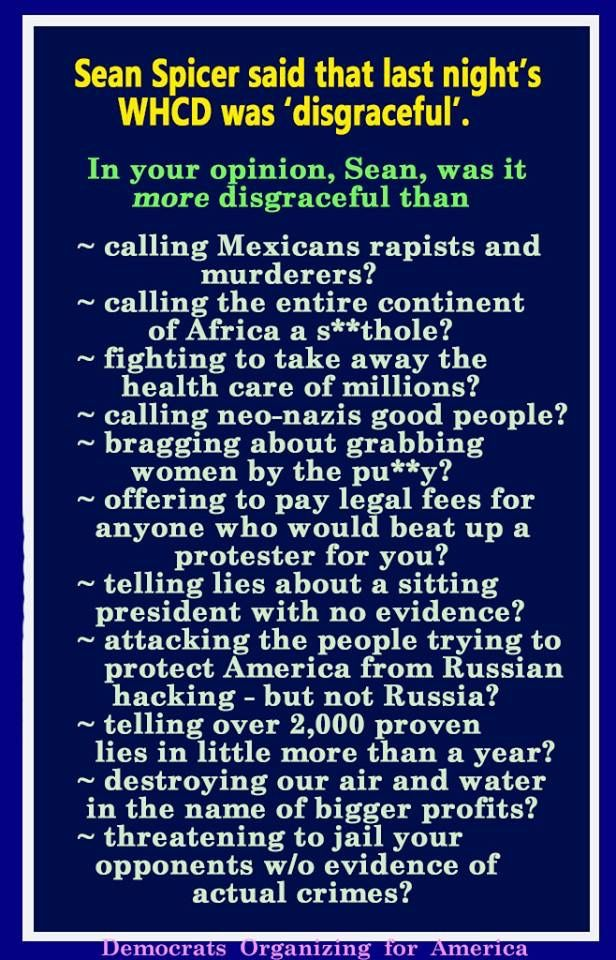 So So Many More Examples Could Be Listed Here From 45 His Gop