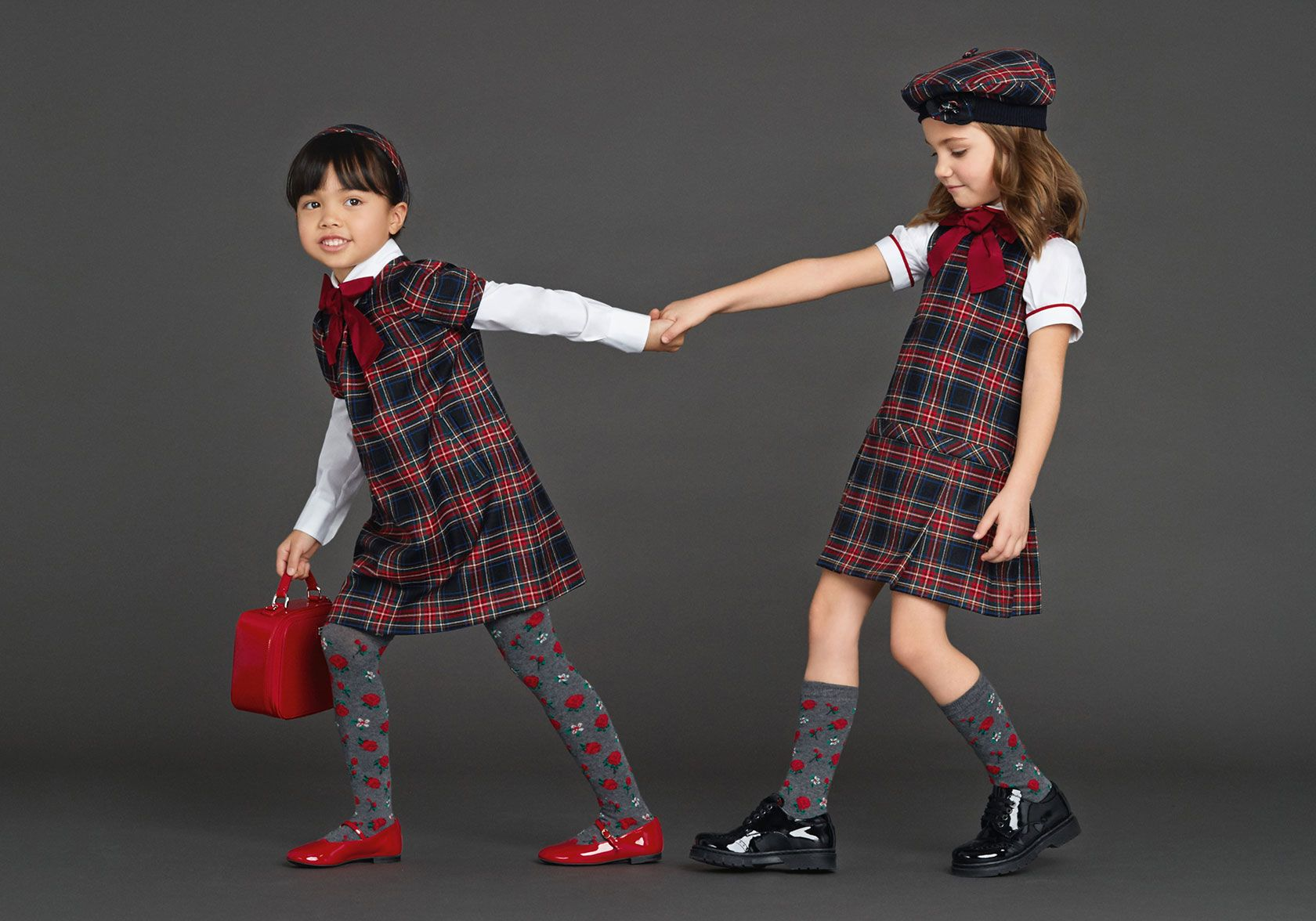 Back To School Dolce  Gabbana Winter 2016 Kids Clothes -7737