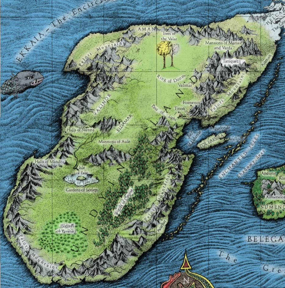 Southern part of the continent of aman maps pinterest middle southern part of the continent of aman fantasy mapmiddle earthstorytelling mapssoutherncards gumiabroncs Image collections