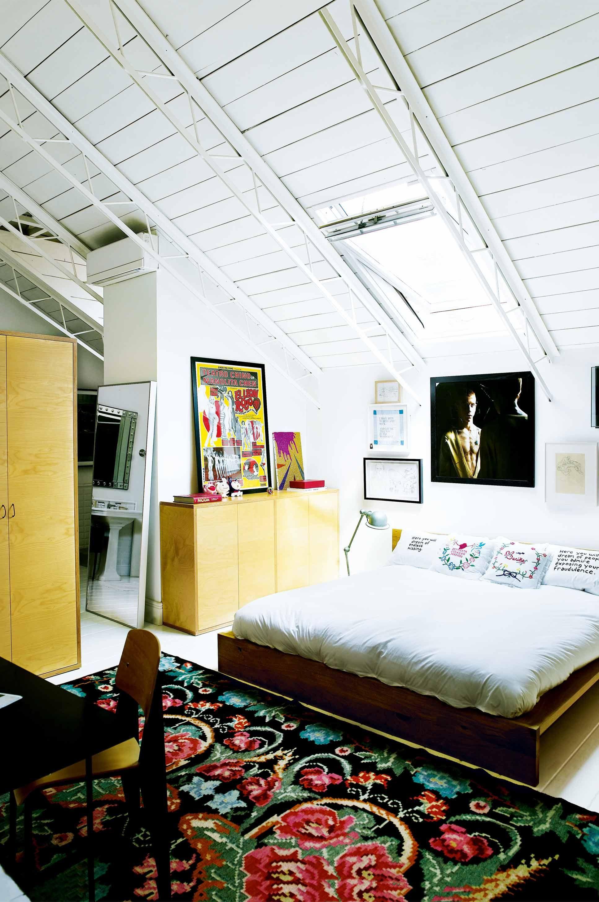 Loft bedroom style  industrialloftstylebedroomjun  home  Pinterest  Loft style