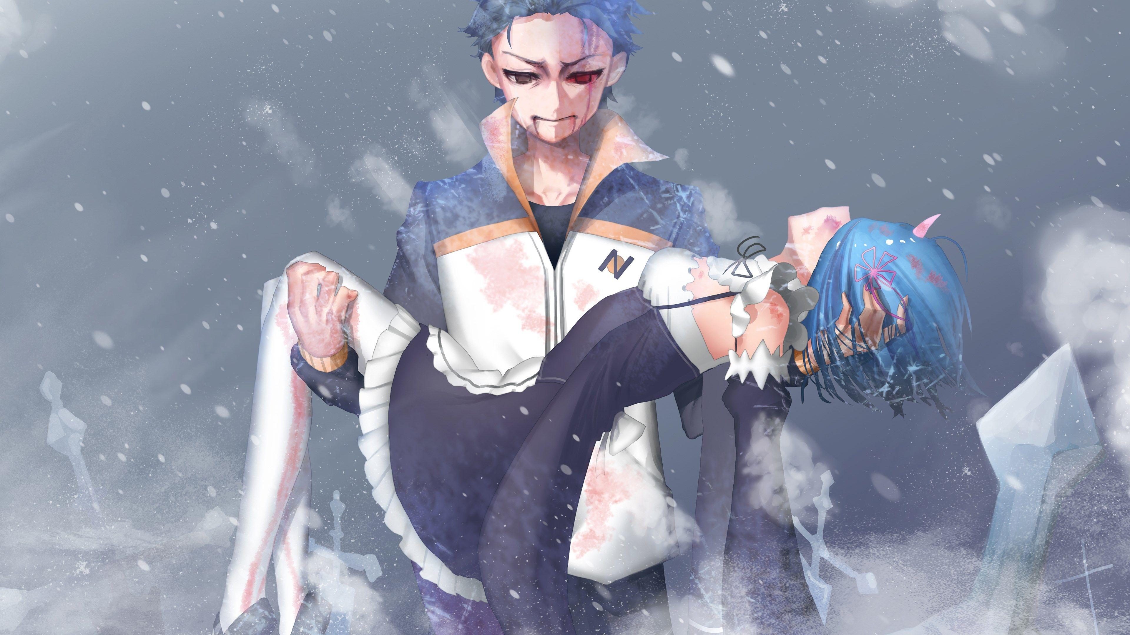 3840x2160 Hdq Images Rezero Starting Life In Another World Re Zero Como Desenhar Anime Arte De Menina De Anime
