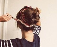 love this hair bun