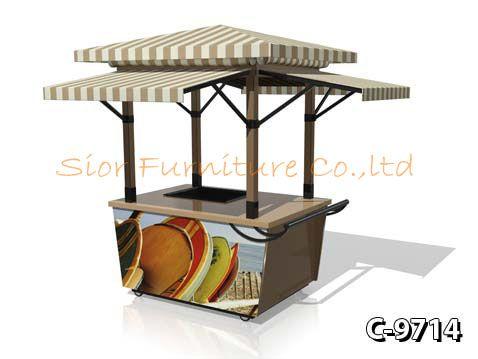 Modern outdoor food kiosk doc stand pinterest food for Garden kiosk designs