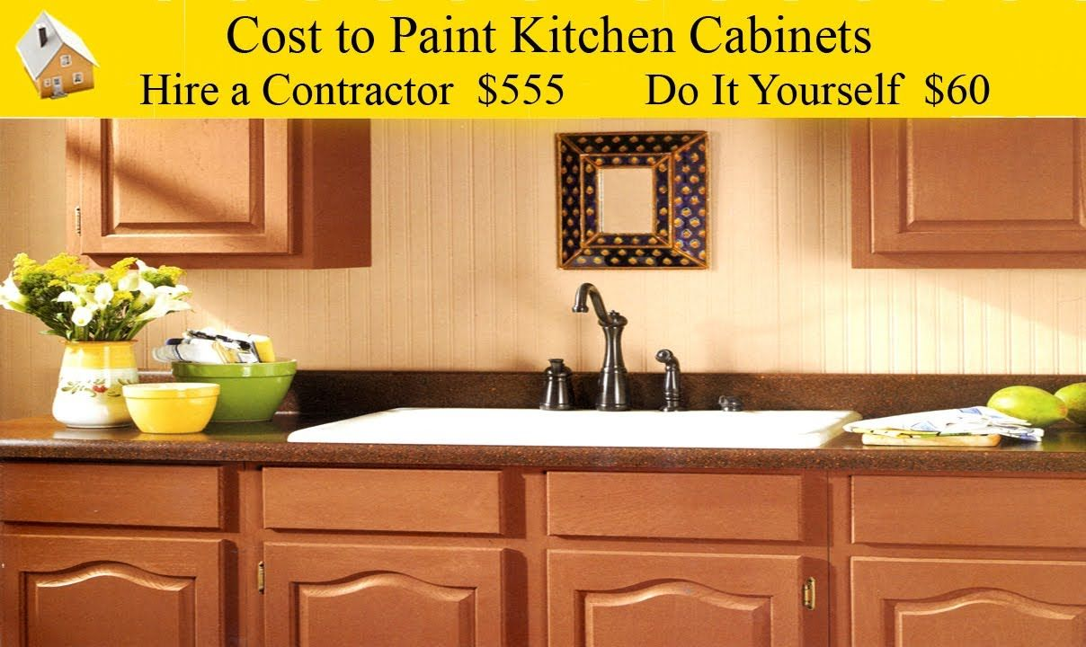 DIY Cost to Paint Kitchen Want to paint dark