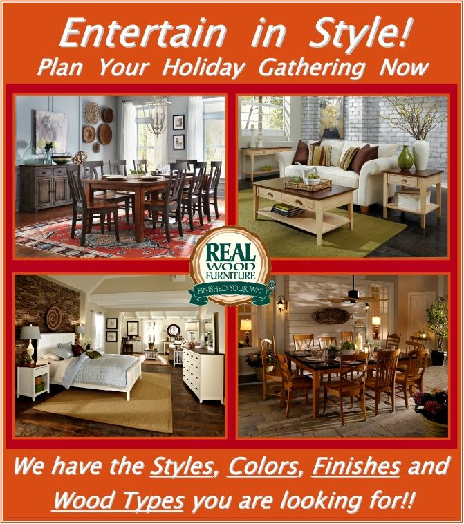 Real Wood Entertainment Furniture At Bare Woods And Home Furnishings Chantilly Va