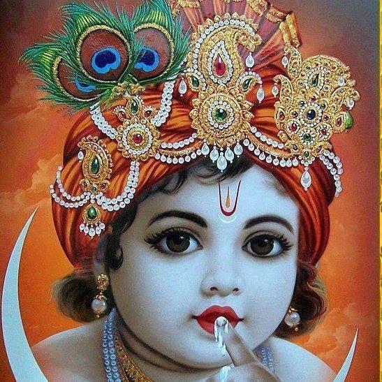 Image of: Lord Krishna Bal Gopal Jai Shree Krishna Radhe Krishna Cute Krishna Krishna Art Radha Theendivechroniclescom Bal Gopal Tb In 2019 Krishna Lord Krishna Bal