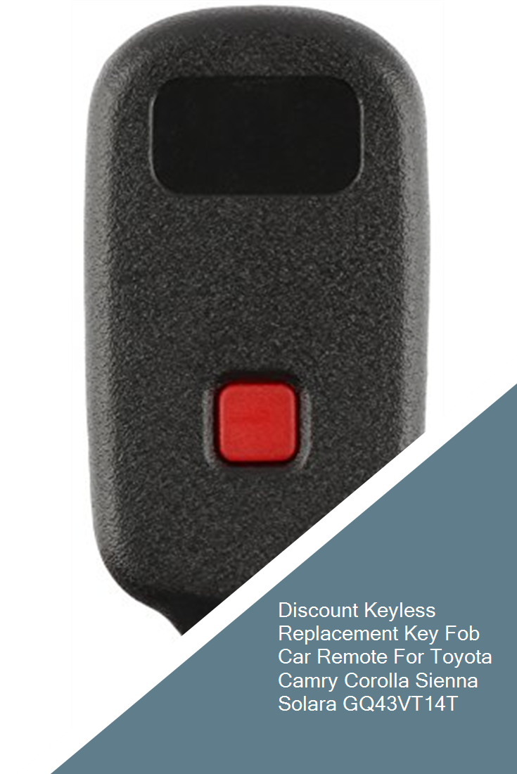 KeylessOption Keyless Entry Remote Control Car Key Fob Replacement for HYQ1512V Pack of 2 KPT1720