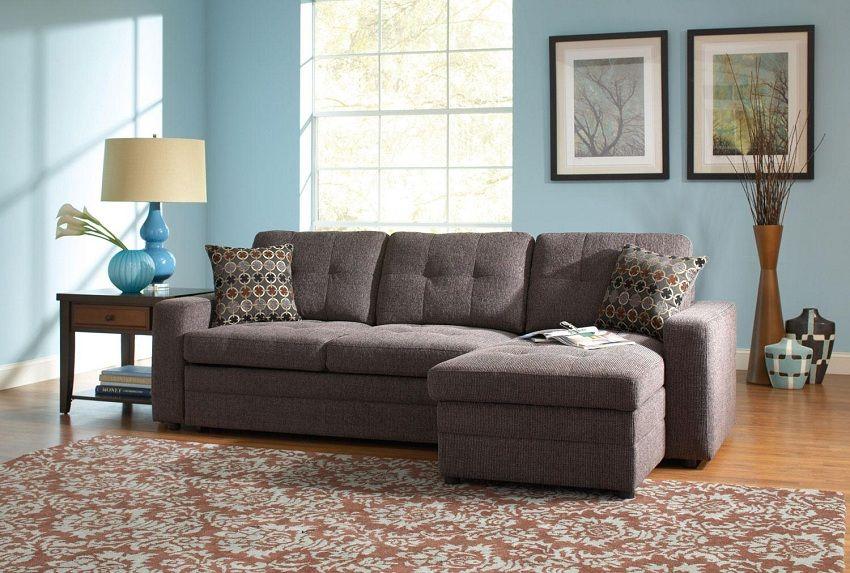 Stupendous Gus Collection 501677 Sleeper Sectional Sofa Small Uwap Interior Chair Design Uwaporg