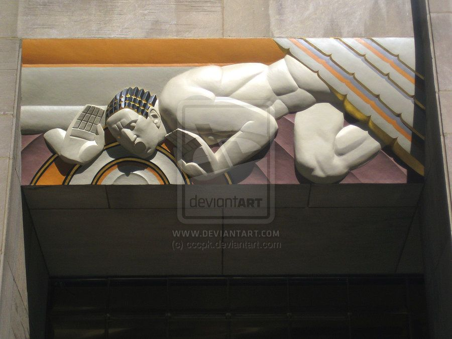 """The Next Step - Picture of the Day: 5/26/12 #2 - """"Rockefeller Plaza Exterior Art 1"""""""