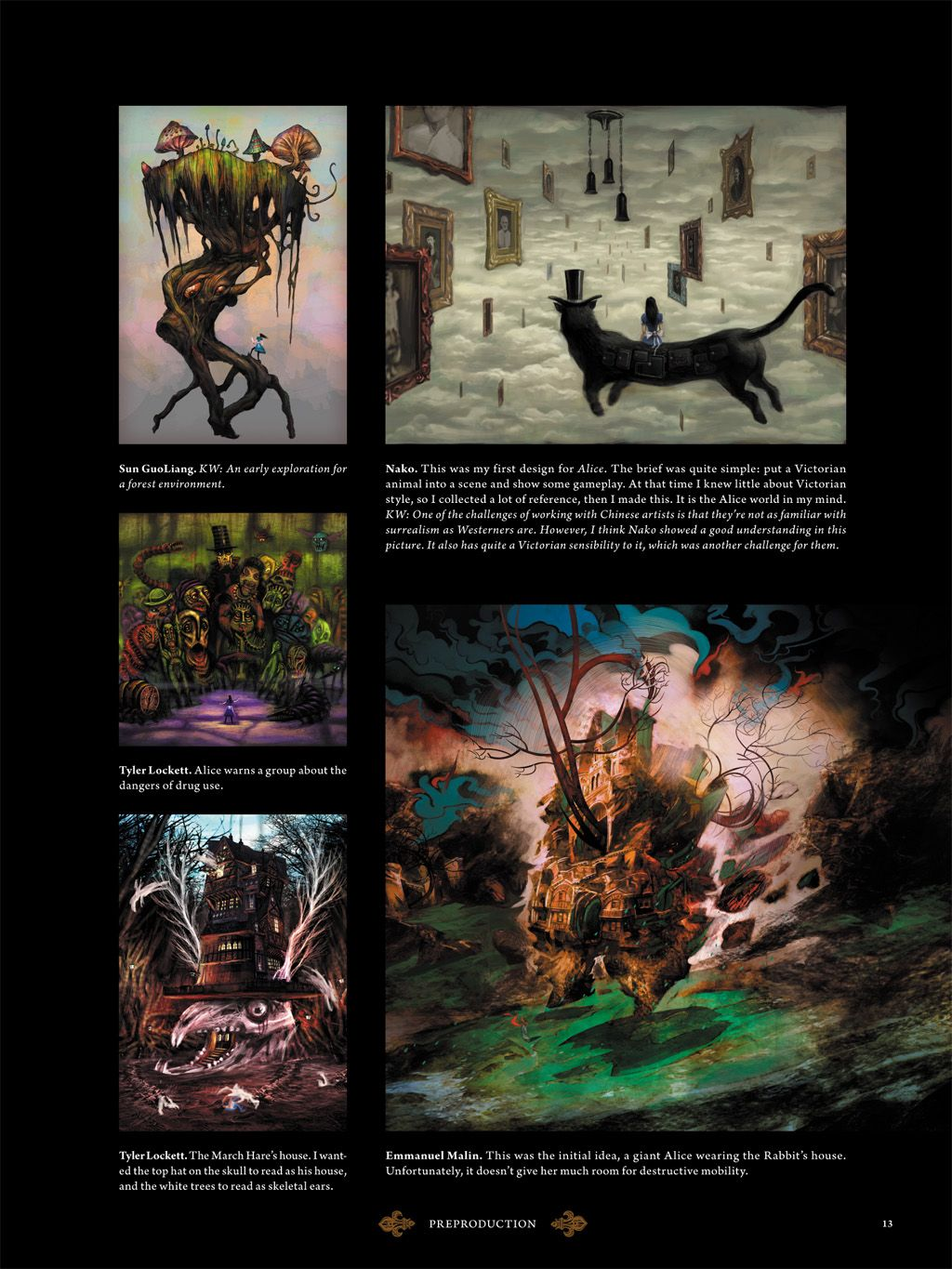 The Art of Alice Madness Returns... From the Hardback Art ...