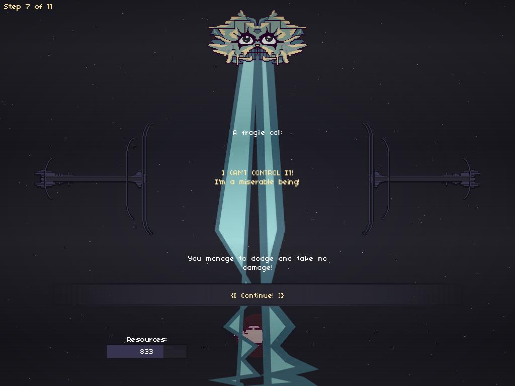 Boss 3 - Electricity Entity, from my game RymdResa rymdresa.com/