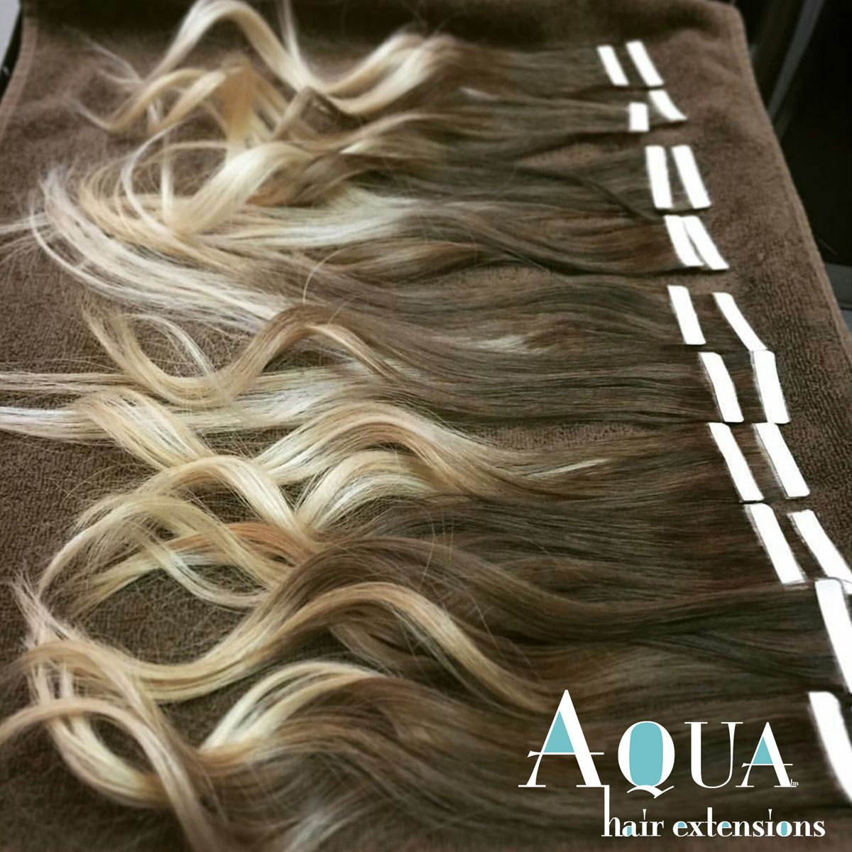 I Would Like Something Like This For My Hair Aqua Ombre Tape Hair