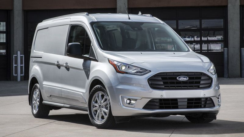 Ford Transit Connect Cargo Van Updated With Two New Engines For